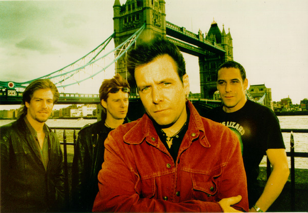 The Headstones... Tough-looking bunch of guys aren't they?
